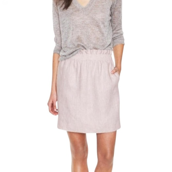 J. Crew Dresses & Skirts - J Crew 100% Linen City Mini Skirt
